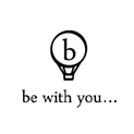 be with you  logo
