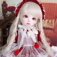 Baby Delf PANSY white skin ver - LUTS