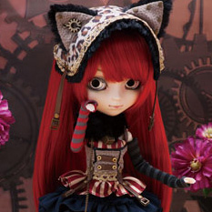 Pullip--Cheshire Cat in the Steampunk World