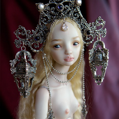 The Muse of Art Nouveau - Enchanted Doll